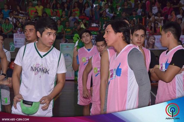 PHOTOS: Oh My G cast, wagi sa Summer Sports Fair