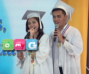 Sophie and Gabby's special song number for their graduation Thumbnail